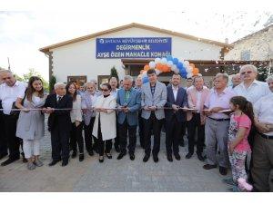 Değirmenlik Ayşe Özen Mahalle Konağı hizmete açıldı