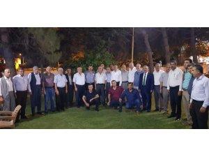 Ziraat odaları başkanlarından Yakup Taş'a destek