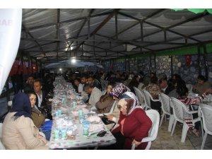 Başkale'de vatandaşlar iftar sofrasında buluştu
