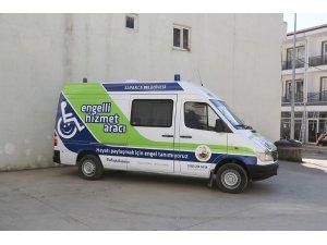 """Sapanca'da """"Engelli Hizmet Aracı"""" hizmet vermeye başladı"""