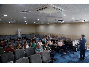MESKİ çalışanlarına kamu mevzuatı eğitimi verildi