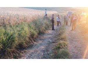 Sungurlu'da trafik kazası : 1 ölü