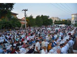 Vatandaşlar Muratlı'da iftar sofrasında buluştu