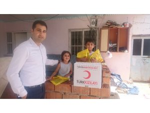 Başsavcılıktan yükümlü ailelerine Ramazan yardımı