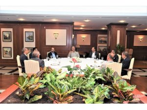 Genelkurmay Başkanı Orgeneral Akar güvenlik korucuları ile iftarda bir araya geldi