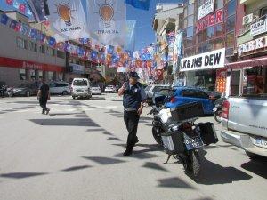 Sandıklı'da bayram öncesi zabıtalardan trafik denetimi