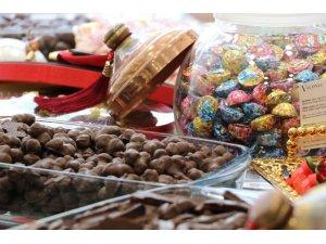 Ramazan Bayramı öncesi şekerleme tezgahları şenlendi
