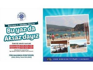 'Bu yaz da Aksaz'dayız'