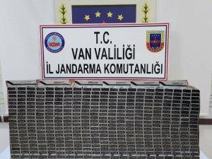 Van'da 4 bin 990 paket kaçak sigara ele geçirildi