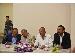 Ali Gülbaran, Gökırmak ve Sümer Mahallelerinde vatandaşla buluştu