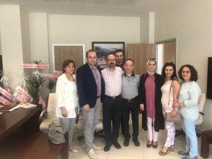 Özel Anadolu Hastanesi, Başhekim Bozkurt'u ziyaret etti
