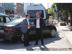 Başkan Ercan devam eden projeleri yerinde inceledi