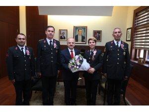 Vali Çakacak, Jandarma Teşkilatı'nın kuruluş yıl dönümünü kutladı
