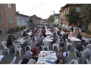 Fevzik Çakmak'ta iftar sevinci
