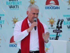 """Başbakan Yıldırım: """"Ülkemizi korumak için şimdi sıra Kandil'de"""""""