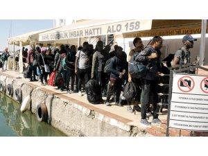 Çanakkale'de 43 kaçak göçmen yakalandı