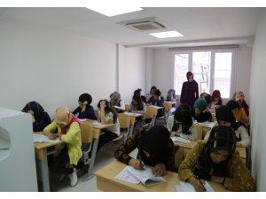 Haliliye Belediyesi öğrencileri sınava hazırlıyor
