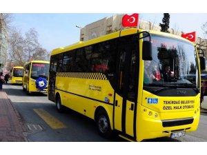 Bayramda Tekirdağ'da ücretsiz toplu taşıma ve mezarlık servisi hizmeti