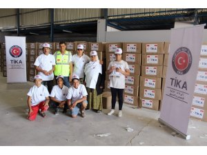 TİKA'dan Tunus'ta bin 500 aileye gıda yardımı