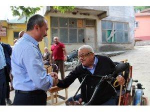 """Milletvekili Kırcalı: """"Engelli kardeşlerimiz için aktif yaşam merkezleri kuracağız"""""""