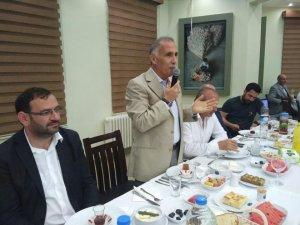 Başkan Arslan, köy ve mahalle muhtarlarıyla bir araya geldi