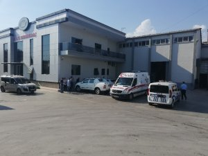 Aydın'da iş kazası, kolunu makineye kaptıran şahsı itfaiye ekipleri kurtardı