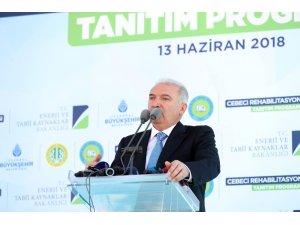 """İBB Başkanı Uysal: """"Sultangazi'nin yıllardır var olan taş ocağı problemini çözüyoruz"""""""