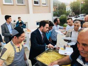 İshak Gazel, Simav'da halk iftarı programına katıldı