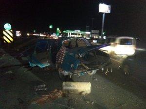 Kırıkkale'de trafik kazası: 10 yaralı