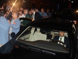 Cumhurbaşkanı Recep Tayyip Erdoğan baba ocağı Güneysu'dan sevgi seli ile uğurlandı