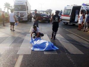 Kamyonetin çarptığı Ukraynalı kadın öldü