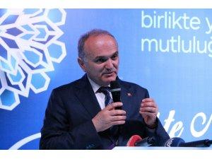 """Bakan Özlü: """"Türkiye'nin tek açığı var orada teknoloji açığıdır"""""""