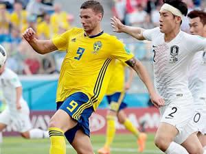 İsveç, Güney Kore'den 3 puanı 1 golle aldı