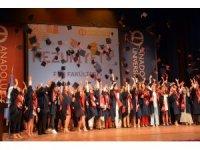 Fen Fakültesi'nde mezuniyet coşkusu