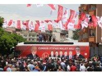 MHP adaylarına Oltu ve Şenkaya'da sevgi seli