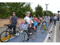 Karesi'ye 5 kilometrelik bisiklet yolu