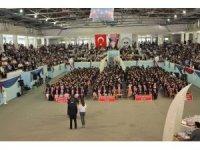 ERÜ Mühendislik Fakültesi 2. Grup Mezuniyet Töreni Kapsamında 4 Bölümden 500 Öğrenci Mezun Oldu