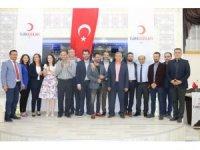 Erzincan'da Kan Bağışçıları ödüllendirildi