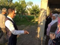 Alibeyoğlu, belediye çalışmalarını yerinde inceledi