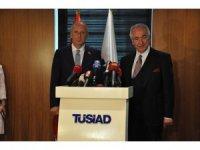 Cumhurbaşkanı adayı İnce, TÜSİAD'ı ziyaret etti