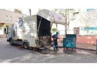 Şahinbey'de çöp konteynerleri temizleniyor