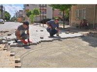Gölbaşı ilçesinde üst yapı çalışmaları devam ediyor