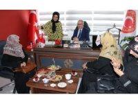 Başbakan Başdanışmanı İnanç'tan Gazi ve Şehit Aileleri Vakfına ziyaret