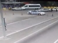 Aracını polis memurunun üzerine süren sürücü tutuklandı