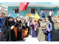 Ayşe Ekinci Eyyübiyeli kadınlardan destek istedi