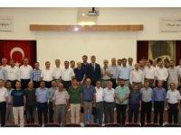 Okul müdürleriyle toplantı düzenlendi