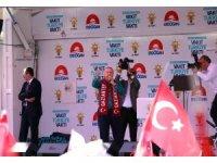 Erdoğan'a Gaziantep'te rekor karşılama
