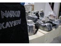Kayseri'de 235 kilogram eroin ele geçirildi