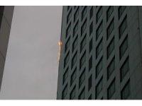 Maslak'ta gökdelende yangın... Birçok ilçeden itfaiye ekibi sevk edildi