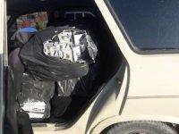 Muradiye'de 5 bin paket kaçak sigara ele geçirildi